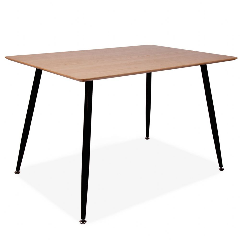 Mmilo Vattern Rectangular Oak Veneer 120cm Dining Table